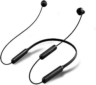 Qiujing HBQ-BX Bluetooth-hörlurar halsband sportheadset trådlöst magnetisk design brusreducering kompatibel röd och svart