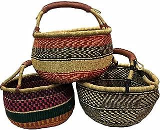 Best african grass basket Reviews