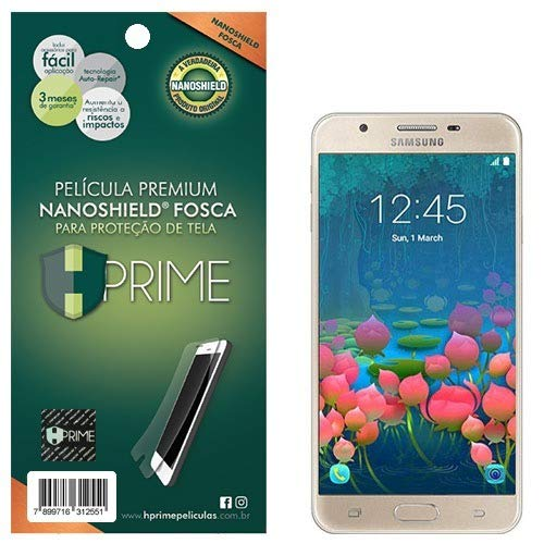 Pelicula HPrime NanoShield Fosca para Samsung Galaxy J5 Prime, Hprime, Película Protetora de Tela para Celular, Transparente