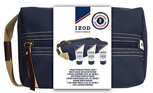 IZOD Travel Kit Performx, 4 Piece