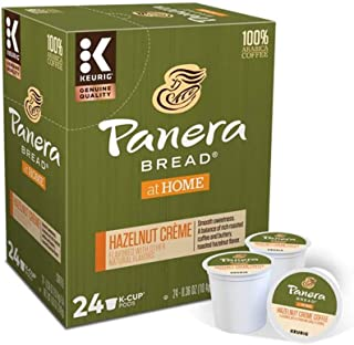 Keurig Coffee Pods K-Cups 16/18 / 22/24 Count Capsules ALL BRANDS/FLAVORS (24 Pods Panera Bread - Hazelnut Creme)