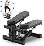 HUANPIN Stepper Up-Down Máquina de Step para Fitness Stair Stepper Cardio Entrenador de Ejercicios Acción retorcida