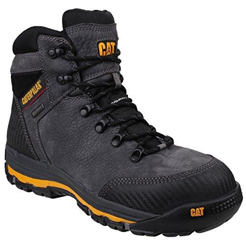 CAT Workwear MUNI06420 Munising P720161 - Zapatos de Seguridad S3 42, Color Gris 🔥
