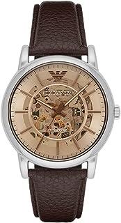 Emporio Armani Gents Wrist Watch, Brown