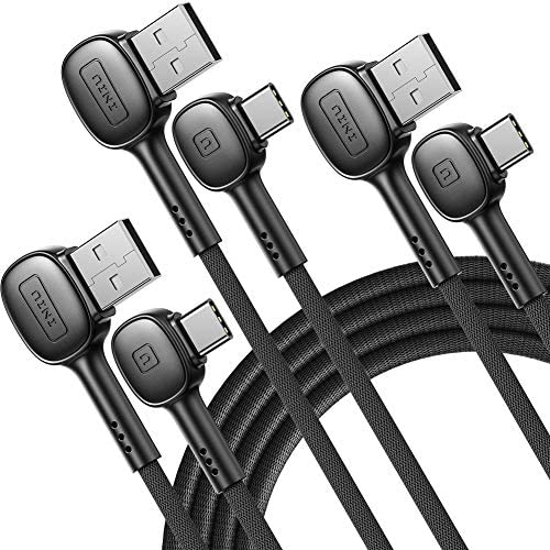 USB C Cable INIU 3 Pack 3 1A Fast Charger Nylon Braided USB A to Type C Charge Cord 1 6ft 6 product image