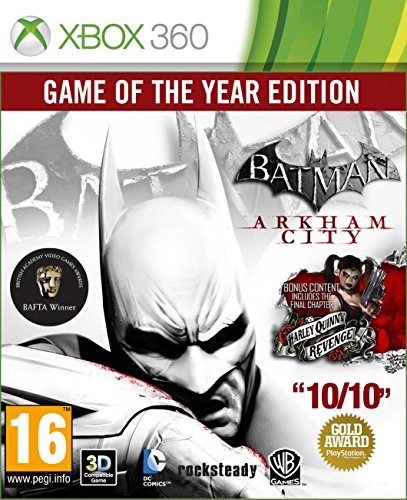 Batman: Arkham City - Game of The Year Edition Xbox 360 [