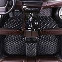 SADGE Custom Auto Fußmatten Set Leder Fuß Teppiche Boden Für BMW 120i 116i 118i 125i M135i M140i F20 E82 E87 E88 Vordere Rückseite wasserdichte rutschfeste Bodenmatte Autoteppiche