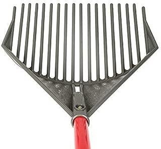 ROOT ASSASSIN RK-001 58-Inch Yard & Garden Rake Multi-Tool, Red/Grey