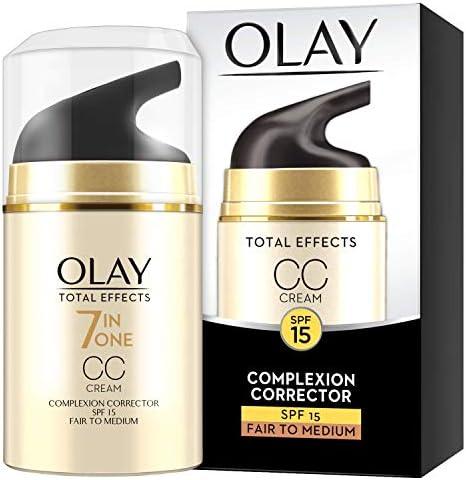 Olay Total Effects 7 in One CC Cream Complexion Corrector SPF 15 Fair to Medium, 50ml