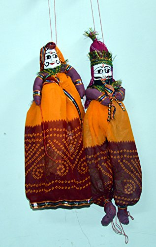 Design ethnique Indian bricolage coloré Rajasthani-Paire