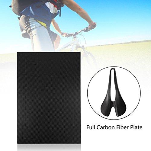 ECMQS glänzendes Carbon Ballaststoff Teller Panel Sheet 3K Plain Weben (230 * 170-3mm)