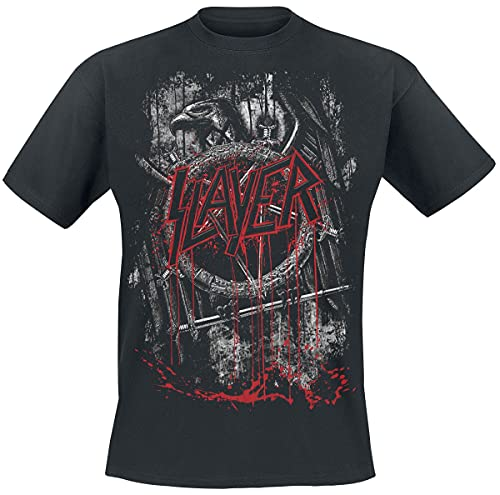 Slayer Dripping Eagle Hombre Camiseta...
