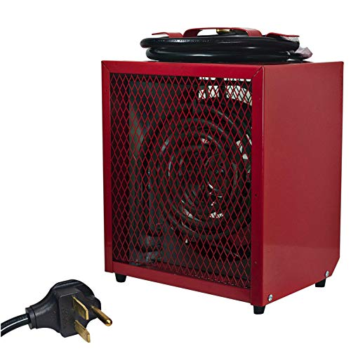 Comfort Zone CZ290 Portable 4800-Watt Fan-Forced Industrial Space Heater with Adjustable Thermostat Control and Safety Overheat Protection