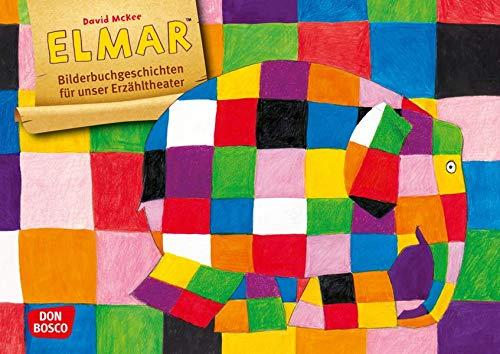 Elmar. Kamishibai Bildkartenset. Entdecken - Erzählen - Begreifen. Bilderbuchgeschichten für unser Erzähltheater