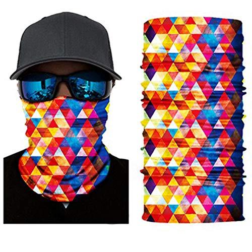 Multifunctionele Headwear Bandana Tube doek gezichtsmasker, clown Taro horror UR Cravat, Face Shield, gezichtsmasker motorfiets, fietsen en skiën Skiër verschillende patronen - Wonderful,E