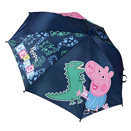 Paraguas George Peppa Pig automatico 48cm surtido