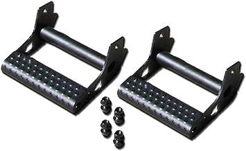 N-Fab JPTS32 Rock Rail Detachable Step Texture Black