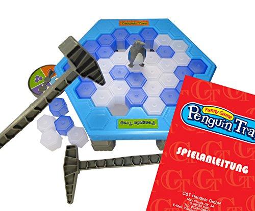 CT Penguin Trap Tischspiel Kinderspiel Desktop Spiel Interaktive Party Familie Strategie Spiel mit Deutscher Anleitung
