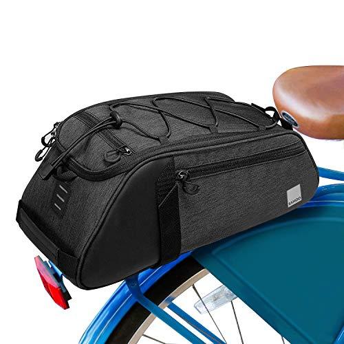 N-brand Bolsa de sillín de bicicleta de 8 l para bicicleta