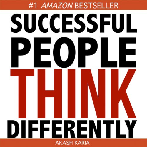 How Successful People Think Differently audiobook cover art