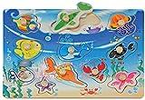A. B. Gee hjd98038de Madera bajo el mar Puzzle