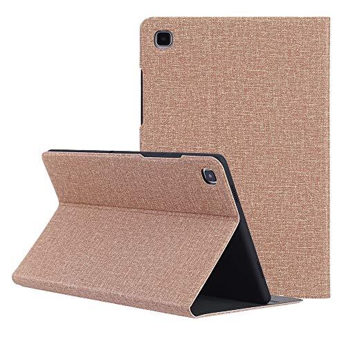ZST Custodia Cover Samsung Galaxy Tab A7 10.4 2020, Slim Folio Custodia Cover per Samsung Galaxy Tab A7 10.4 Pollici (T500/T505/T507) 2020 (Auto Sveglia/Sonno), Marrone