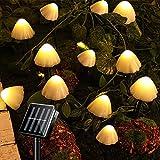 Luci Da Giardino Solari Da Esterno 12 LED Fungo Stringa Luci Da Terra Impermeabili Decorazione Lampada Per Cortile Patio Gazebo Garden Party Matrimonio Compleanno Festival Prato Pathway