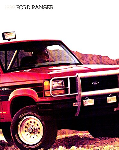 ORIGINAL & BEAUTIFUL 1989 FORD RANGER PICKUP TRUCK Dealership Sales Brochure - 89