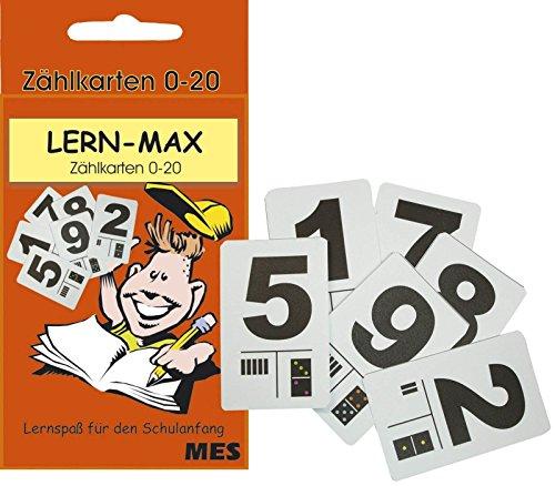 SEEHAUS 1992 Lernfix Zählkarten 0-20 in Schachtel