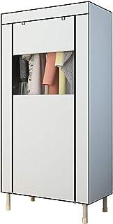 CXVBVNGHDF Armoire en Tissu Armoire à vêtements, Placard de Rangement Simple Armoire portative Armoire penderie Debout Arm...