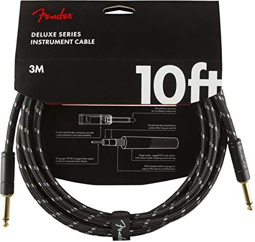 Fender Kabel Deluxe Series, 3m, black tweed