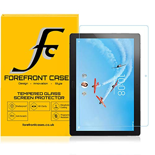 Forefront Cases Screen Protector for Lenovo Tab P10, Tempered Glass - 1 Pack - Lenovo Tab P10 Screen Protector - 9H Scratch Resistant, HD Clear, 3D Touch Support