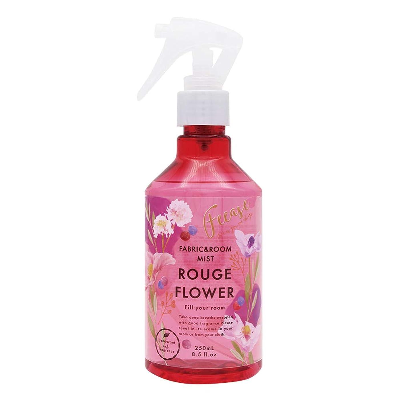 ノルコーポレーション ルーム&ファブリックミスト フィース 消臭成分配合 ルージュフラワーの香り 250ml OA-FEE-1-1