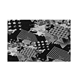 Urban Design Monochrome Jigsaw Puzzles 1000 Pieces Wooden Educational Game for Adults Teen Girls