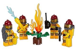 LEGO Figur Minifigur Feuerwehrfrau cty304 Firewomen aus Set 853378
