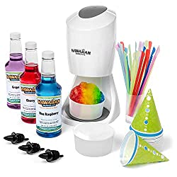 Hawaiian Shaved Ice Machine With Syrup Party Package