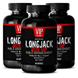 Testosterone Booster for Men Over 50 - LONGJACK Size UP 2170Mg - Male Enhancement Supplement (with Maca, Tongkat Ali, L-Arginine, Ginseng) - 3 Bottles 180 Capsules