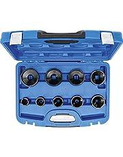 BGS 8337 | BGS 8337 | zestaw kluczy z nakrętkami | 9-częściowy | czopy umieszczone na zewnątrz | KM4 - 5 - 6 - 7 - 8 - 9 10 - 11 - 12