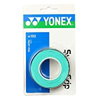 ヨネックス(ヨネックス) テニスグリップテープ ウェットスーパーグリップ 3本入り AC102-003 (グリーン/FF/Men's、Lady's、Jr)