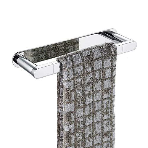 Toallero Baño Toalleros de aro Anillo de toalla de cobre de cobre de pared toalla de baño del cromo bar hogar montado en la pared toalla baño anillo toallero baño toalla de mano que cuelga 10 pulgadas