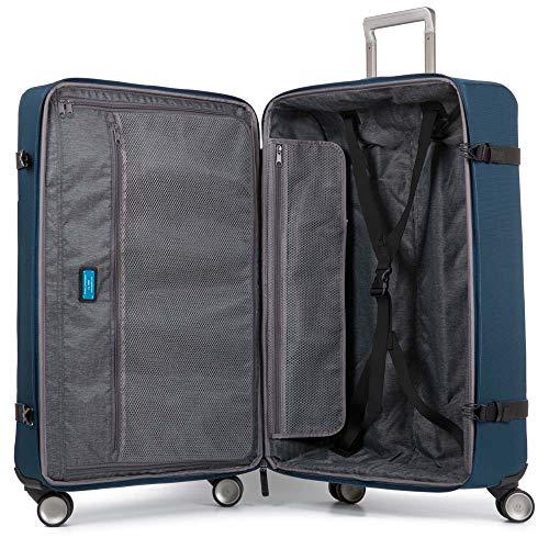 Piquadro Move 2 Trolley, Sintetico, Blu, 65 Litri, 69 cm
