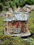 IFEVER The Adorable Miniatur Feengarten und Terrarium Cottage Feenhaus für Garten, Feenfigur Rasen und Gartendeko