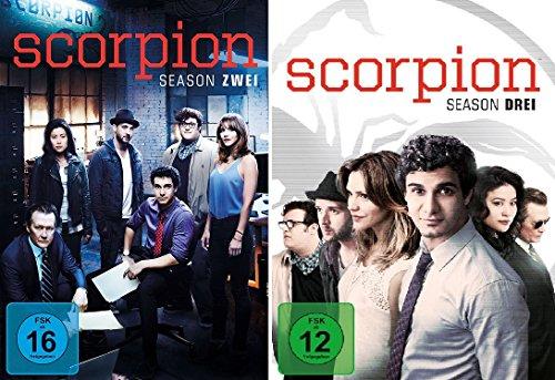 Scorpion - Season/Staffel Zwei und Drei im Set - Deutsche Originalware [12 DVDs]