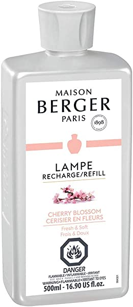 Cherry Blossom Lampe Berger Fragrance Refill For Home Fragrance Oil Diffuser Purifying And Perfuming Your Home 16 9 Fluid Ounces 500 Milliliters Made In France