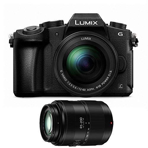 Lowest Prices! Panasonic Lumix DMC-G85 Mirrorless Micro Four Thirds Digital Camera with 12-60mm + 45...