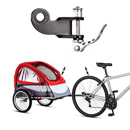 Fahrradanhänger Kupplung, Kinderanhänger Haken, Anhänger Anhängerkupplung, Mountainbike Traktionsstahl Abschlepphaken