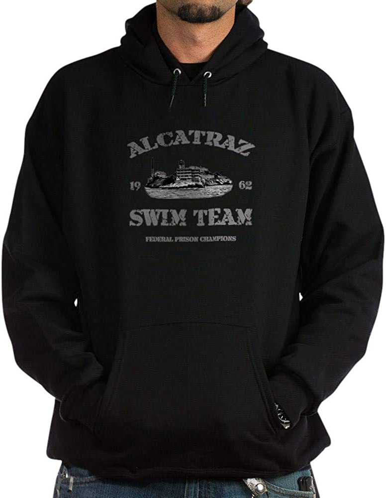 mart CafePress Super intense SALE Alcatraz Swim Sweatshirt Team Hoodie