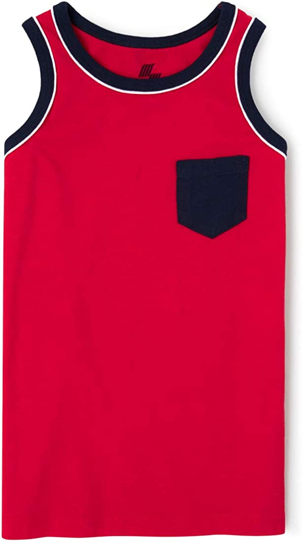 The Children's Place Boys' Mix And Match Pocket Tank Top