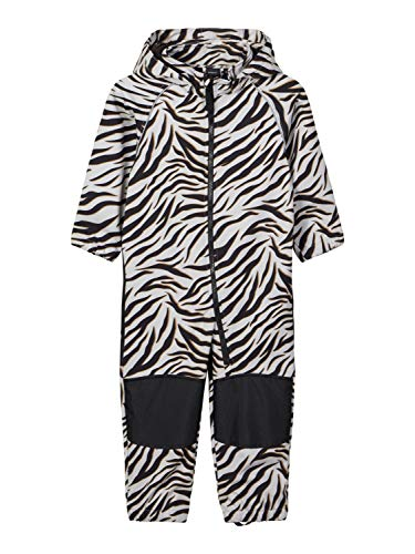 NAME IT Child Alfa Zebraprint - Chándal de softshell beige 80 cm