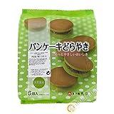 Pancake grünen tee matcha und roten bohnen Dorayaki Matcha 6pcs MARUKYOU 310g Japan - Pack 2 stück